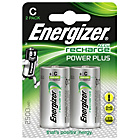 more details on Energizer 2500 mAh NiMH Rechargeable C Batteries - 2 Pack.