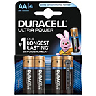 more details on Duracell Ultra Power AA Alkaline Batteries - 4 Pack.