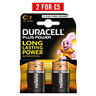 more details on Duracell Plus Power C Alkaline Batteries - 2 Pack.