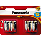 more details on Panasonic Pro Power Alkaline AA Batteries - 12 Pack.