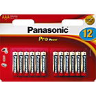 more details on Panasonic Pro Power Alkaline AAA Batteries - 12 Pack.
