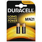 more details on Duracell MN21 Alkaline Batteries - 2 Packs.