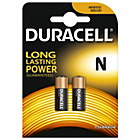 more details on Duracell Basic N Alkaline Batteries - 2 Packs.