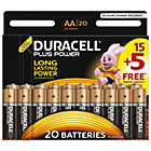 more details on Duracell Plus Power AA Alkaline Batteries 15 + 5 Free.