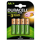 more details on Duracell Supreme Rechargeable 1300 mAh AA Batteries -4 Pack.