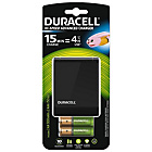 more details on Duracell 15 min AA/AAA Battery Charger, 2xAA&2xAAA Batteries