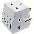 more details on Masterplug 3 Way Individually Switched Adaptor.