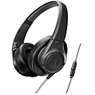 Audio Technica AX3iS Over-Ear Headphones - Black