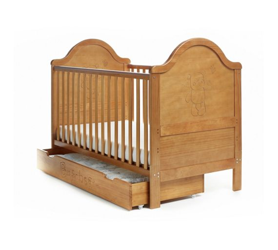 buy obaby b is for bear cot bed under drawer country. Black Bedroom Furniture Sets. Home Design Ideas