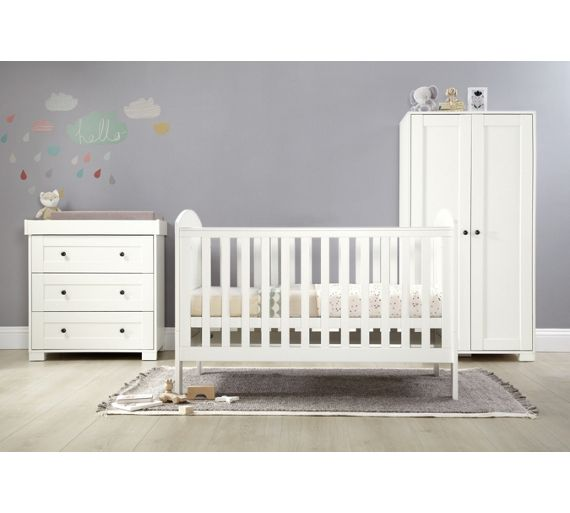 Buy M P Harrow 3 Piece Furniture Set White At Your Online Shop For Nursery