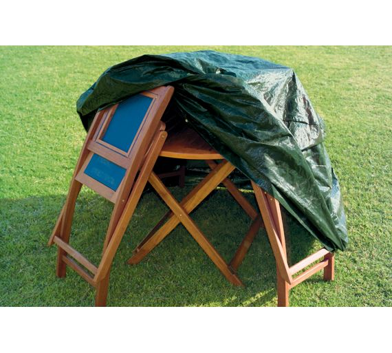 Argos Garden Table And Chairs Cover: Buy HOME Round Patio Set Cover At Argos.co.uk