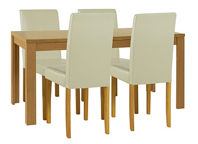 Buy HOME Penley Pentley Oak Ext Dining Table amp 4 Chairs  : 3394799RZ001Afmtpjpgampwid570amphei513 from www.argos.co.uk size 570 x 513 jpeg 43kB