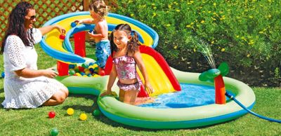 Chad Valley Activity Pool Play Centre - 85ft - 109 Litres