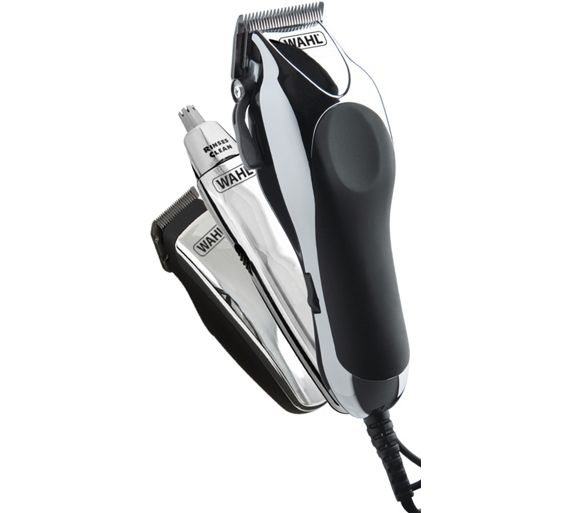 buy wahl deluxe chrome pro clipper kit at. Black Bedroom Furniture Sets. Home Design Ideas