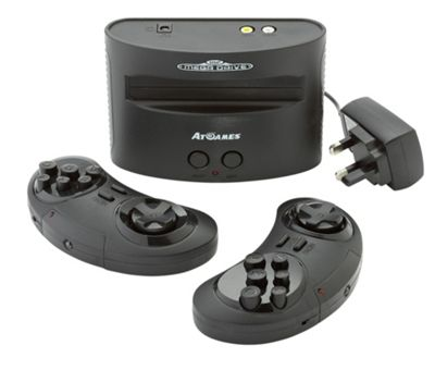 Sega Megadrive With 80 Built-In Games