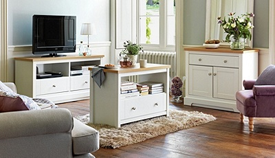 argos living room furniture buy of house westbury 2 drawer tv unit white at 17728