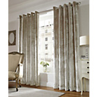 Lux Eyelet Curtains - 229 x 229cm - Champagne