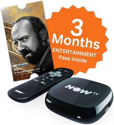 NOW TV Box with 3 Months Entertainment Pass