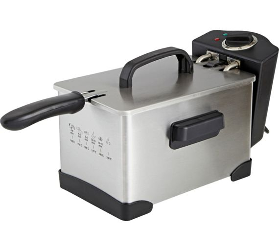 Buy Simple Value Pro Deep Fat Fryer - Stainless Steel at