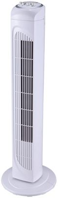Simple Value White Tower Fan