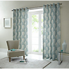 Fusion Woodland Trees Curtains - 117x182cm - Duck Egg