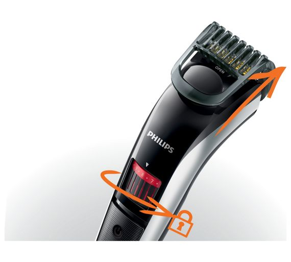 buy philips qt4013 beard and stubble trimmer series 3000. Black Bedroom Furniture Sets. Home Design Ideas