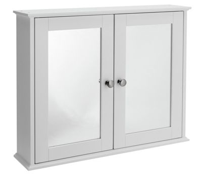 argos white bathroom cabinet buy home mirror 2 door cabinet white at argos co uk 10738