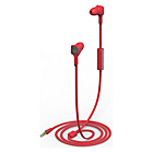 Ministry of Sound Audio In Ear Headphones - Red/Grey
