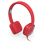 Ministry of Sound Audio On Ear Headphones - Red/Grey