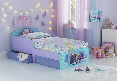 frozen bedroom furniture buy disney frozen toddler bed with drawers multicoloured 11567