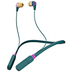 Skullcandy Ink'd 2.0 Wireless In-Ear Headphones - Green/Pink