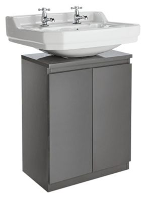 Hygena Gloss Undersink Storage - Grey