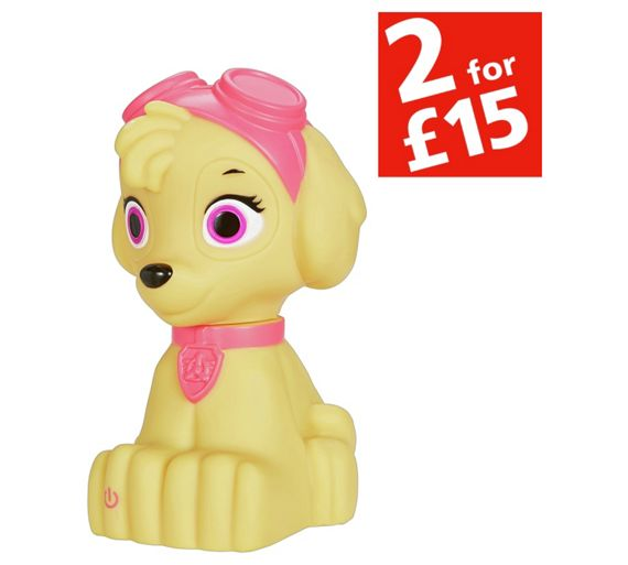 Squishy Mushy Argos : Buy Paw Patrol Skye Soft Night Light at Argos.co.uk - Your Online Shop for Nightlights ...