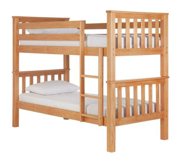 buy collection heavy duty bunk bed frame pine at your online shop for children 39 s. Black Bedroom Furniture Sets. Home Design Ideas