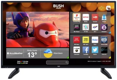 Bush LED40287 40 Inch Full HD DLED Smart TV