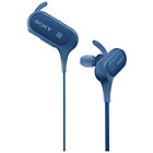 Sony MDR-XB50BT Sports In-Ear Wireless Headphones - Blue