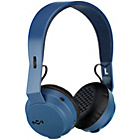 Marley Rebel Bluetooth On-Ear Headphones - Blue