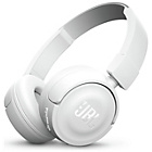 JBL T450BT On-Ear Wireless Headphones - White