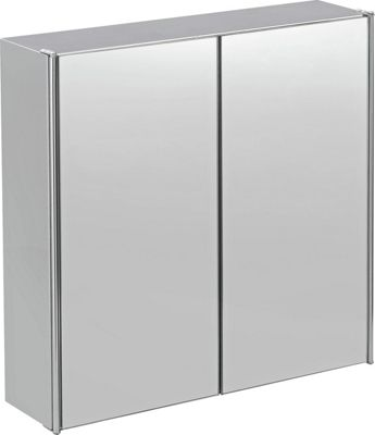 bathroom wall cabinets argos buy home door mirrored bathroom cabinet stainless 11845