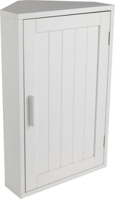 argos bathroom corner cabinet buy home wooden corner bathroom cabinet white at argos 10736