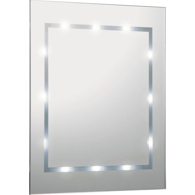 buy home illuminated bathroom mirror at argos co uk your 13151