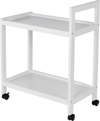 argos kitchen storage buy home white tea trolley at argos co uk your 1342